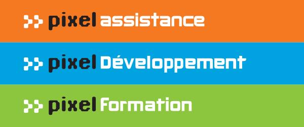 Logo de l'exposant : PIXEL ASSISTANCE - PIXEL DEVELOPPEMENT - PIXEL FORMATION