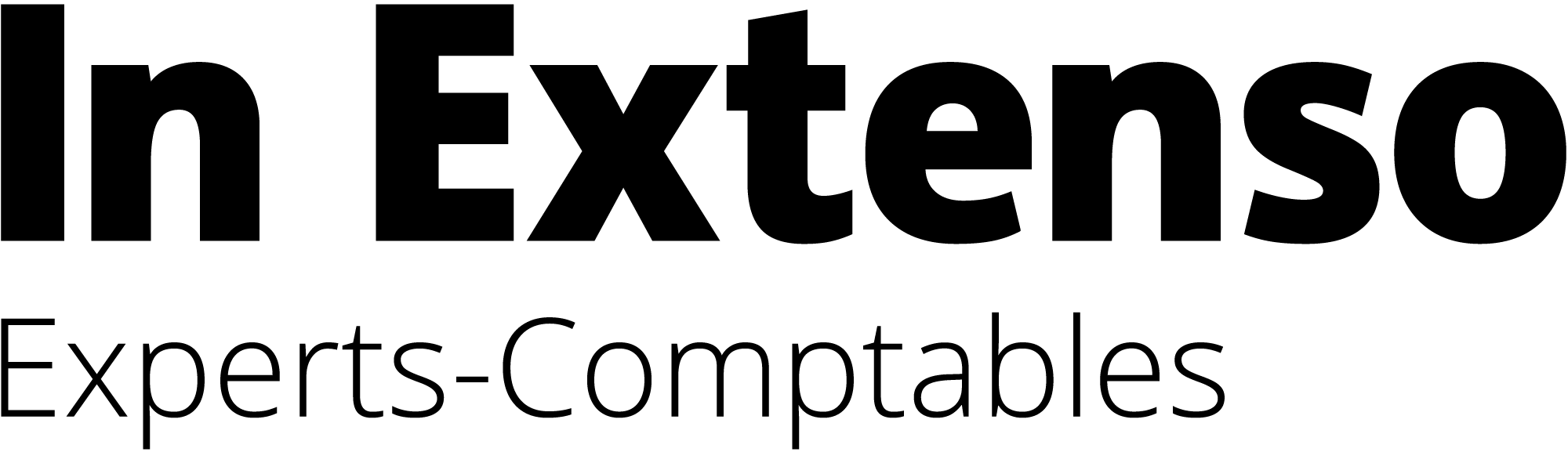 Logo de l'exposant : IN EXTENSO
