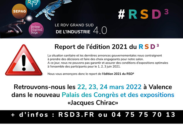 Report de l'édition 2021 !